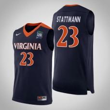 Virginia Cavaliers #23 Kody Stattmann 2019 Final-Four Jersey