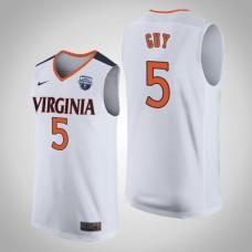 Virginia Cavaliers #5 Kyle Guy 2019 Basketball Champions Jersey