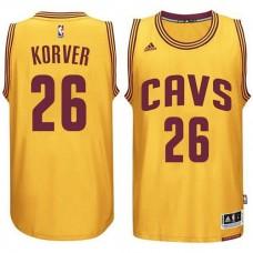 Cleveland Cavaliers #26 Kyle Korver Gold Alternate Jersey