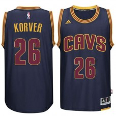 Kyle Korver Cavaliers #26 Alternate Navy Jersey