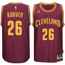 Cleveland Cavaliers #26 Kyle Korver Wine Road Jersey