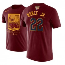 Cleveland Cavaliers #22 Larry Nance Jr. City T-Shirt