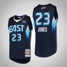 Cleveland Cavaliers #23 LeBron James Navy 2009 All-Star Jersey