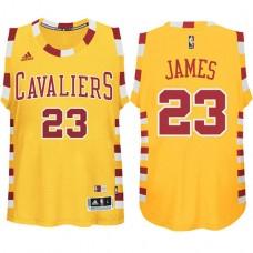 Youth Cleveland Cavaliers #23 LeBron James Hardwood Classics Jersey