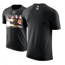 Cleveland Cavaliers #23 LeBron James Black Champions T-Shirt
