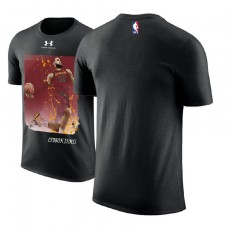 Cleveland Cavaliers #23 LeBron James Black Performance T-Shirt