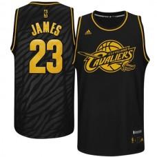 Cleveland Cavaliers #23 LeBron James Black Fashion Jersey