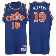 Lenny Wilkens Cavaliers #19 Blue Hardwood Classic Jersey