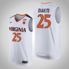 Virginia Cavaliers #25 Mamadi Diakite College Basketball Jersey