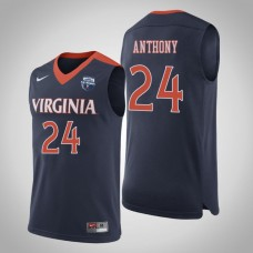 Virginia Cavaliers #24 Marco Anthony 2019 Basketball Champions Jersey