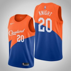 Brandon Knight Cavaliers City Edition Blue Jersey