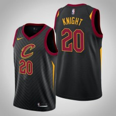 Cleveland Cavaliers #20 Brandon Knight Black Statement Jersey