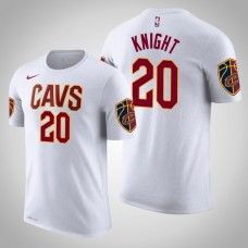 Cleveland Cavaliers #20 Brandon Knight White Association T-Shirt