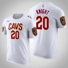 Cleveland Cavaliers #20 Brandon Knight White Association T-Shirt