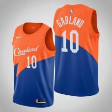 Cleveland Cavaliers Darius Garland #10 Blue Swingman 2019-20 Jersey  -  City Edition