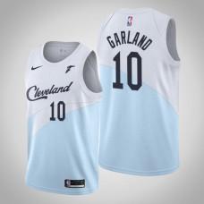 Cleveland Cavaliers Darius Garland #10 Blue Swingman 2019-20 Jersey  -  Earned Edition