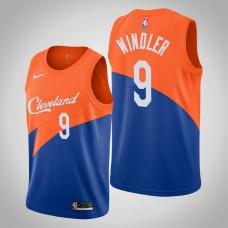 Cleveland Cavaliers Dylan Windler #9 Blue Swingman 2019-20 Jersey  -  City Edition