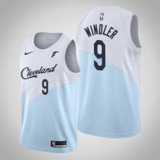 Cleveland Cavaliers Dylan Windler #9 Blue Swingman 2019-20 Jersey  -  Earned Edition