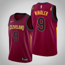 Cleveland Cavaliers Dylan Windler #9 Maroon Swingman 2019-20 Jersey  -  Icon Edition