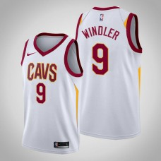 Cleveland Cavaliers Dylan Windler #9 White Swingman 2019-20 Jersey  -  Association Edition