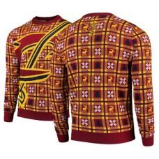Cavaliers Wine Big Logo Christmas Ugly Sweater
