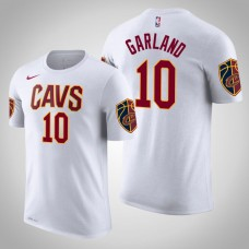 Darius Garland Cleveland Cavaliers #10 Association White Name & Number T-Shirt