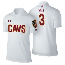 George Hill Cavaliers #3 Association White Performance Polo