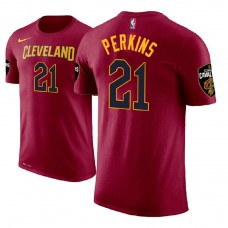 Cleveland Cavaliers #21 Kendrick Perkins Icon T-Shirt