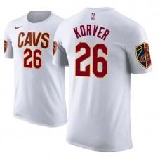 Cleveland Cavaliers #26 Kyle Korver Association T-Shirt