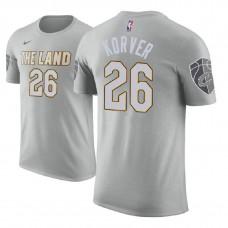 Cleveland Cavaliers #26 Kyle Korver City T-Shirt