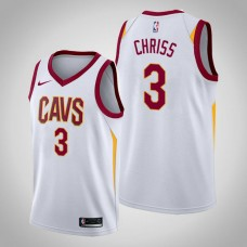 Cleveland Cavaliers #3 Marquese Chriss White Association Jersey