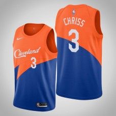 Cleveland Cavaliers #3 Marquese Chriss Blue City Jersey