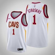 Cleveland Cavaliers #1 Nik Stauskas Association Jersey