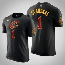 Cleveland Cavaliers #1 Nik Stauskas Statement T-Shirt