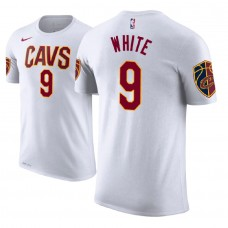 Cleveland Cavaliers #9 Okaro White Association T-Shirt