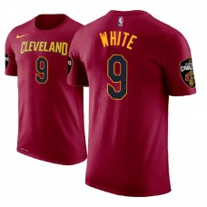 Okaro White Cavaliers #9 Wine Icon T-Shirt