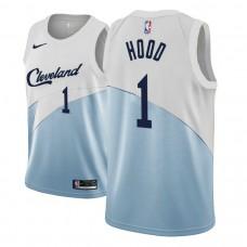 Cleveland Cavaliers #1 Rodney Hood Blue Earned Jersey