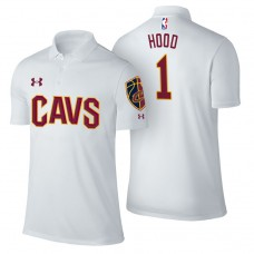 Cleveland Cavaliers #1 Rodney Hood White Association Polo