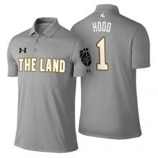 Cleveland Cavaliers #1 Rodney Hood Gray City Polo