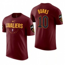 Alec Burks Cavaliers #10 Maroon Practice Essential T-Shirt