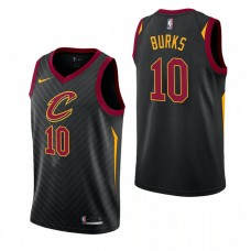 Cleveland Cavaliers #10 Alec Burks Statement Jersey