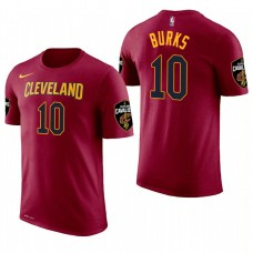 Cleveland Cavaliers #10 Alec Burks Icon T-Shirt