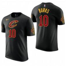 Cleveland Cavaliers #10 Alec Burks Statement T-Shirt