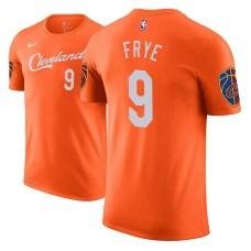 Channing Frye Cavaliers City Edition Orange T-Shirt