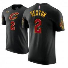 Cleveland Cavaliers #2 Collin Sexton Black Statement T-Shirt