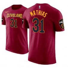 Cleveland Cavaliers #31 Dakota Mathias Icon T-Shirt