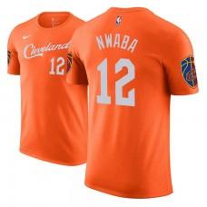 Cleveland Cavaliers #12 David Nwaba Orange City T-Shirt