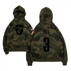 Cleveland Cavaliers #3 George Hill Name & Number Hoodie