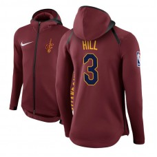 Cleveland Cavaliers #3 George Hill Maroon Showtime Hoodie