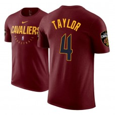 Cleveland Cavaliers #4 Isaiah Taylor Practice Essential T-Shirt